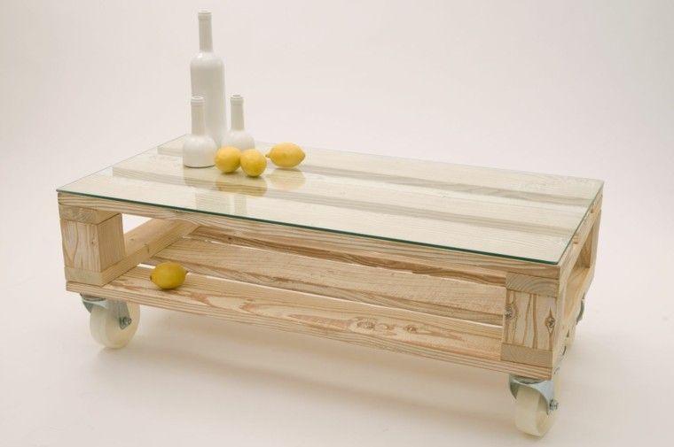 Más de 60 ejemplos de muebles hechos con palets   Pallets, Mesas and ...