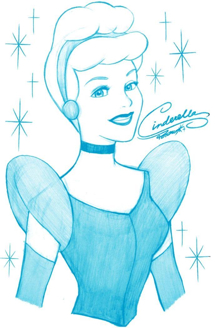 Одноцветные портреты Дисней Принцесс disney princesses pinterest