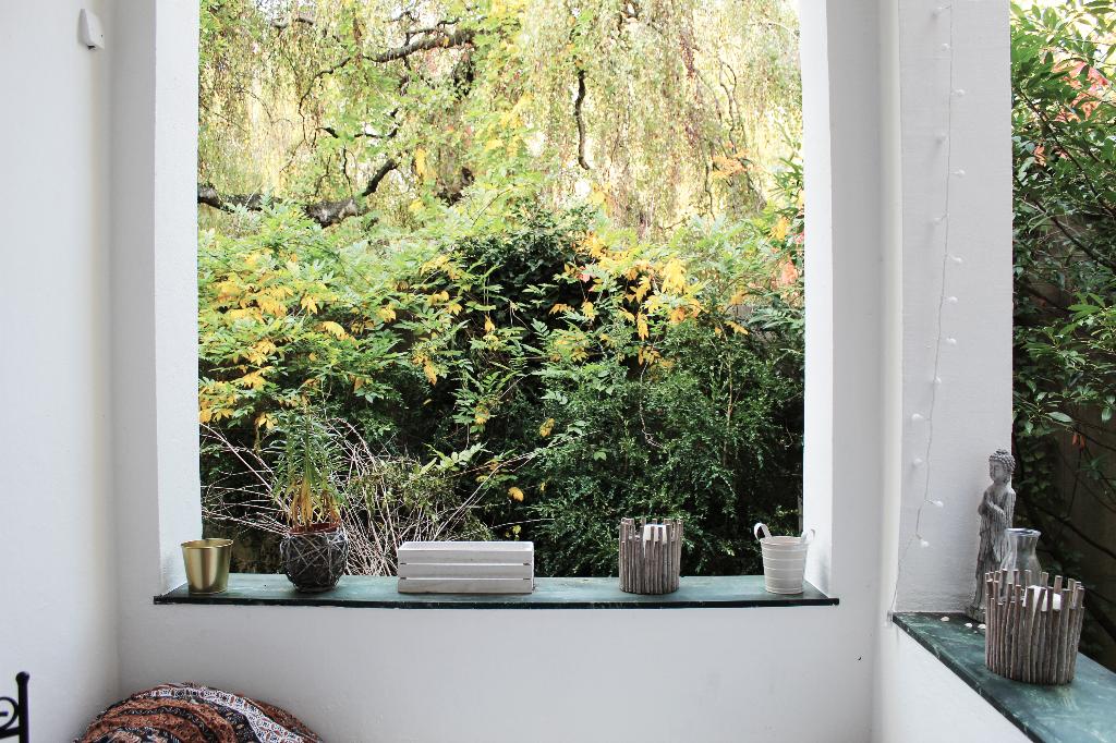 Balkon Mit Blick In Den Garten Wg Zimmer Garten Room Inspo