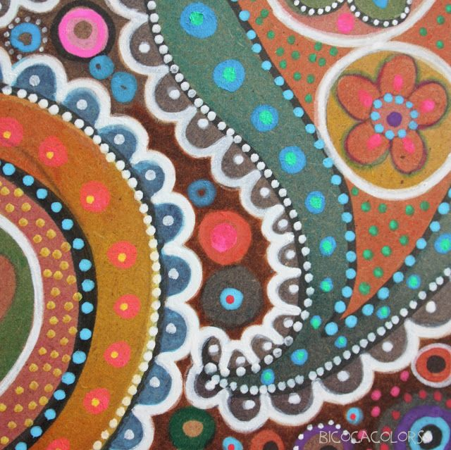 bicocacolors: paisley