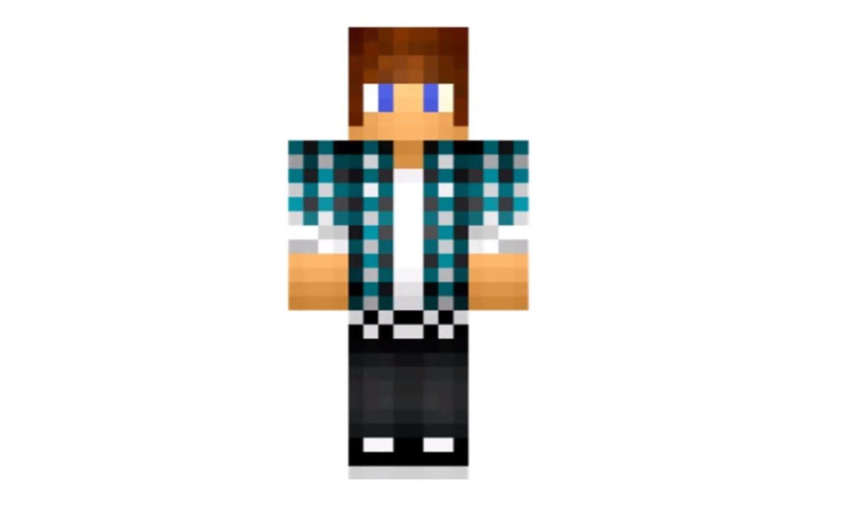 Foto Da Skin Do Authenticgames Pesquisa Google Minecraft Para