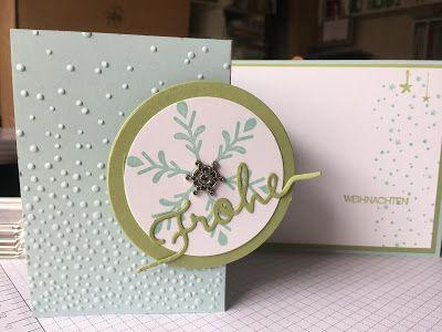 Stampin mit Scraproomboom - Weihnachtliche Worte