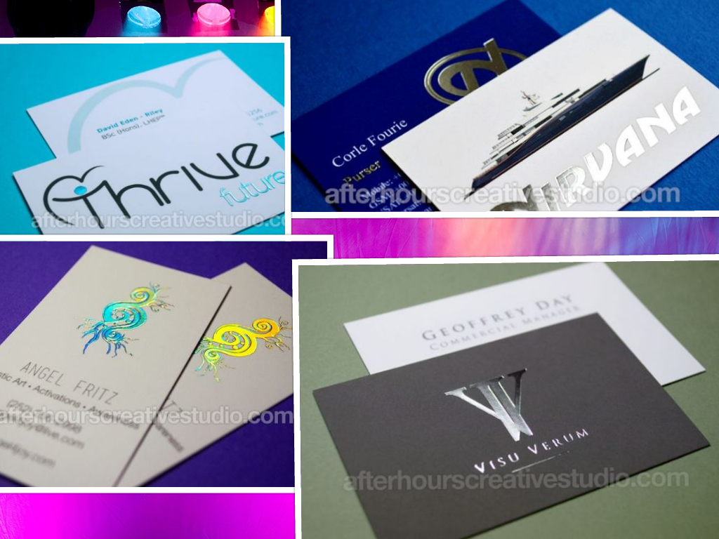 Print Velvet Laminated Business 450gsm silk Cards .Business Card ...