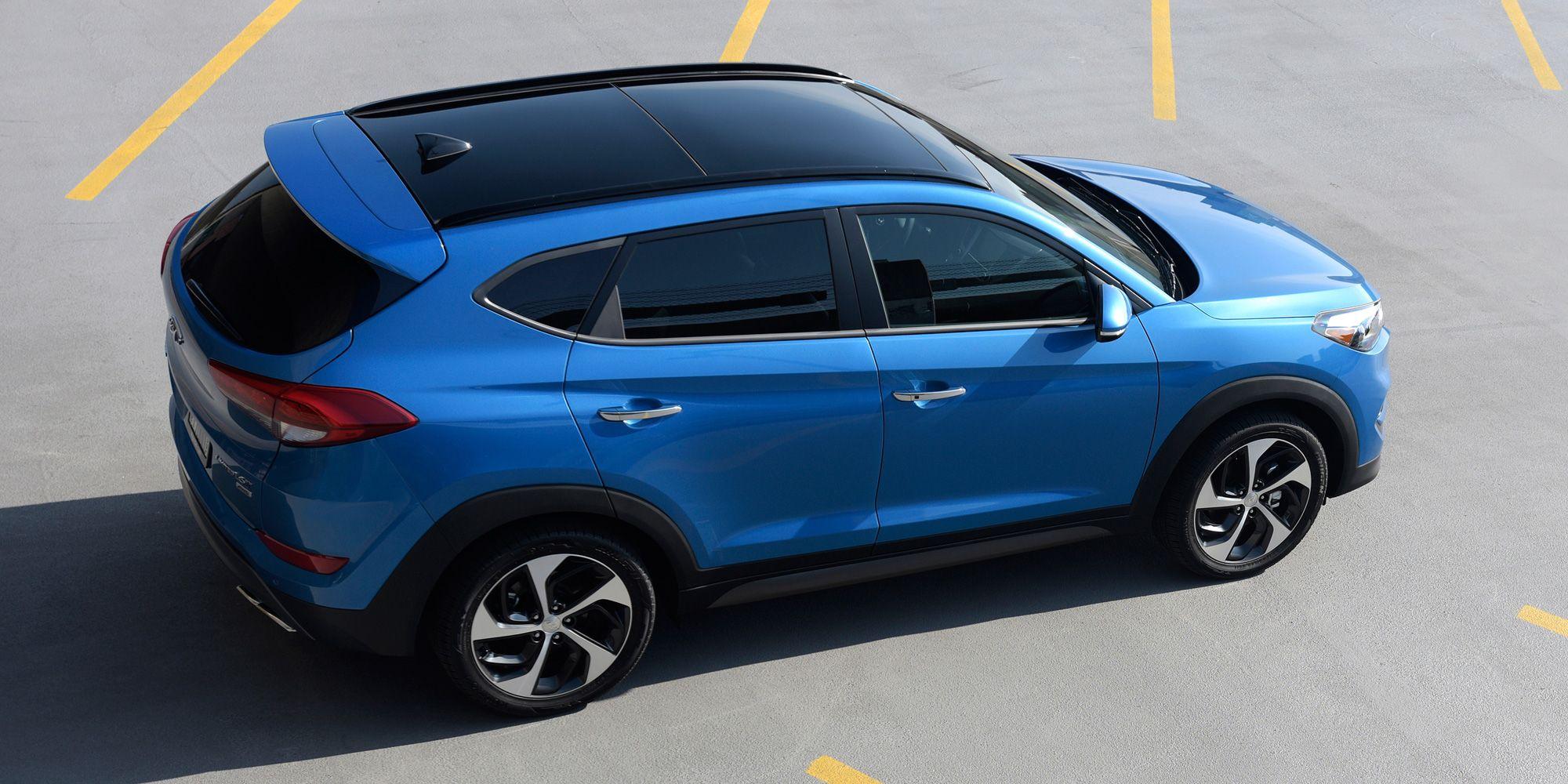 2016 Hyundai Tucson Hyundai Tucson Hyundai Best Midsize Suv
