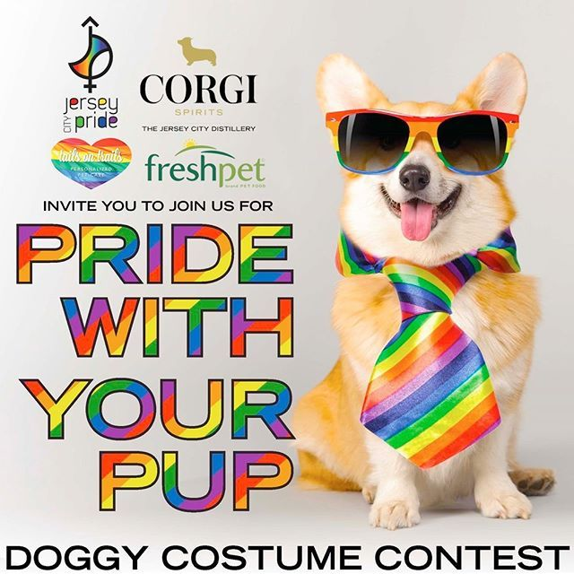 Join Us Tomorrow For The Awesome Pride With Your Pup Event At Corgi Spirits At The Jersey City Distillery 1 Distillery Drive Jersey C With Images Humane Society Pup Corgi