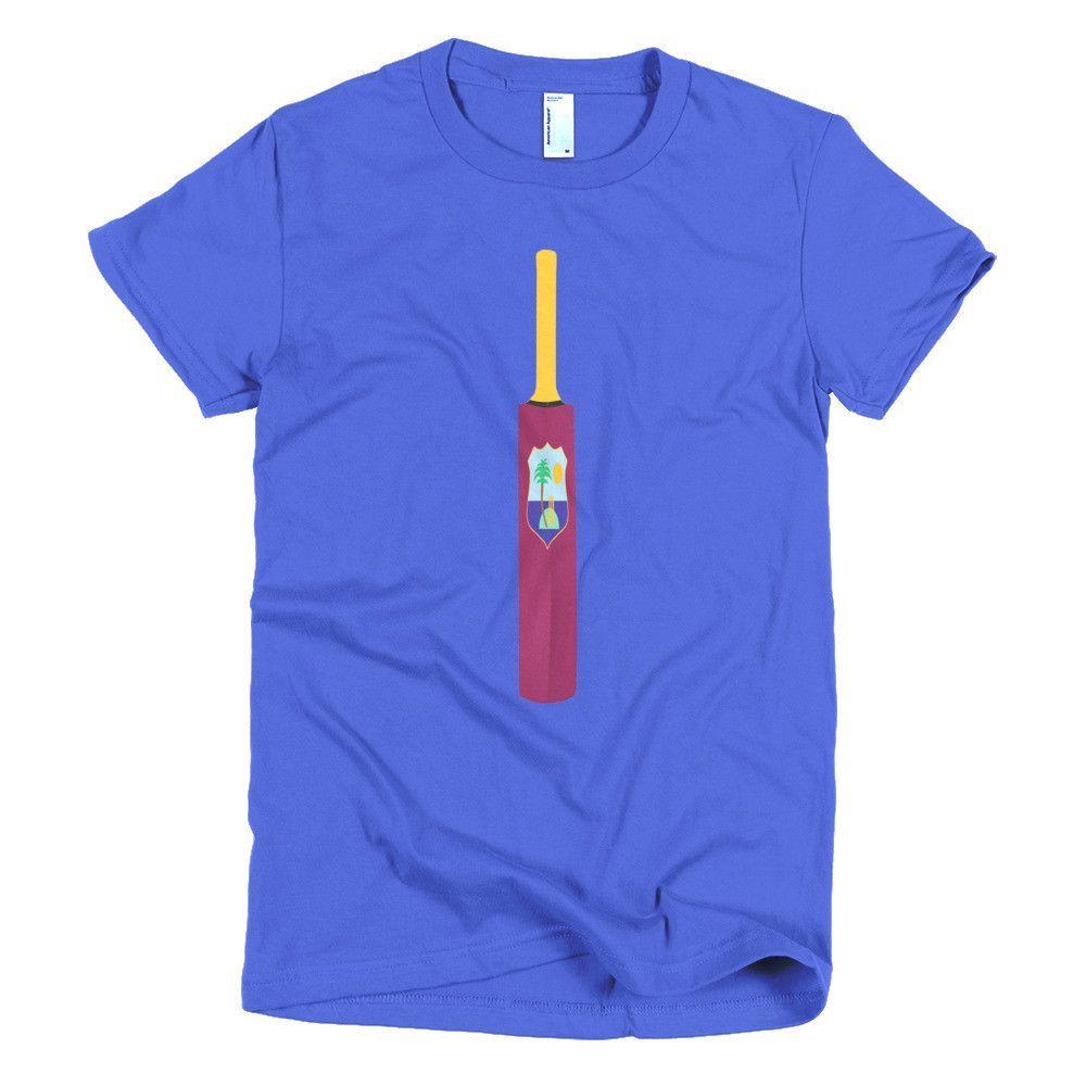 Short sleeve women's t-shirt (W.I. Cricket Team)