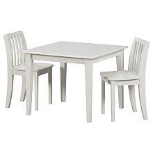Delta Venetian Collection Table & Chairs - White - Delta Enterprises ...