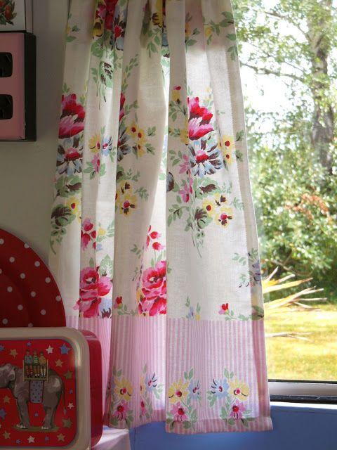 Unique Retro Diner Curtains