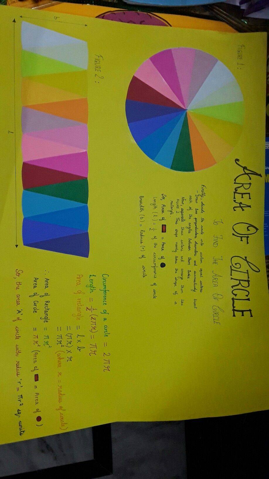 Maths Project On Circle For Class 9 Math Projects Math Geometry Math [ 1632 x 918 Pixel ]