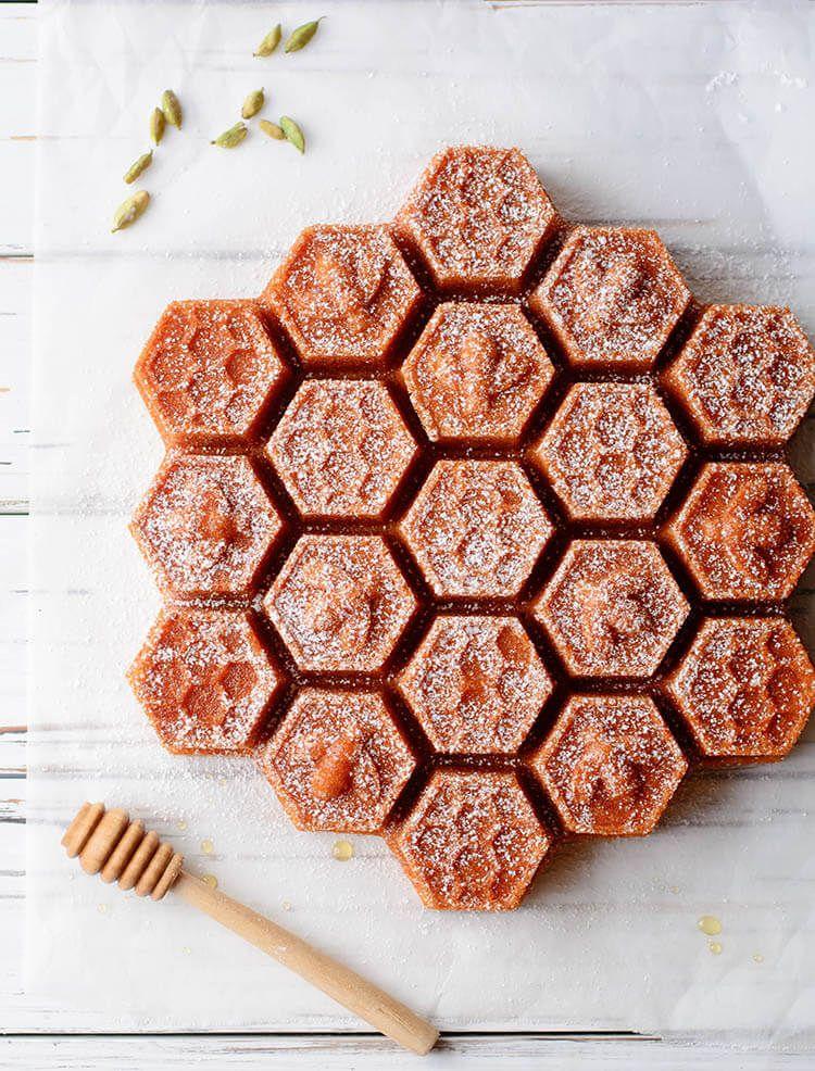 Beorn's Honey Cake is part of Honey cake - Honey cakes were the Beorning's specialty in the Lord of the Rings  This tender and sweet cake is easy enough to replicate and perfect to top with butter and honey!