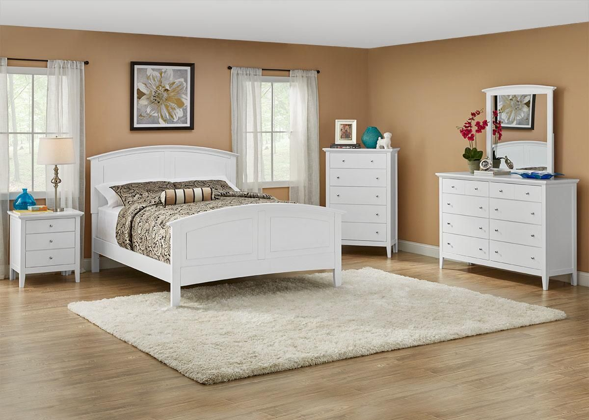 5 master bedroom house  Fulton White  Pc Queen Bedroom wFree Chest  new home ideas