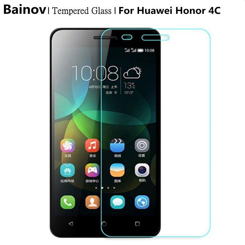 Bainov Honor Play 4c Screen Protector 9h Tempered Glass Protective Film For Huawei G Play Mini Honor 4c Chm U01 Honor4c Dual Affiliate Huawei Smartphone