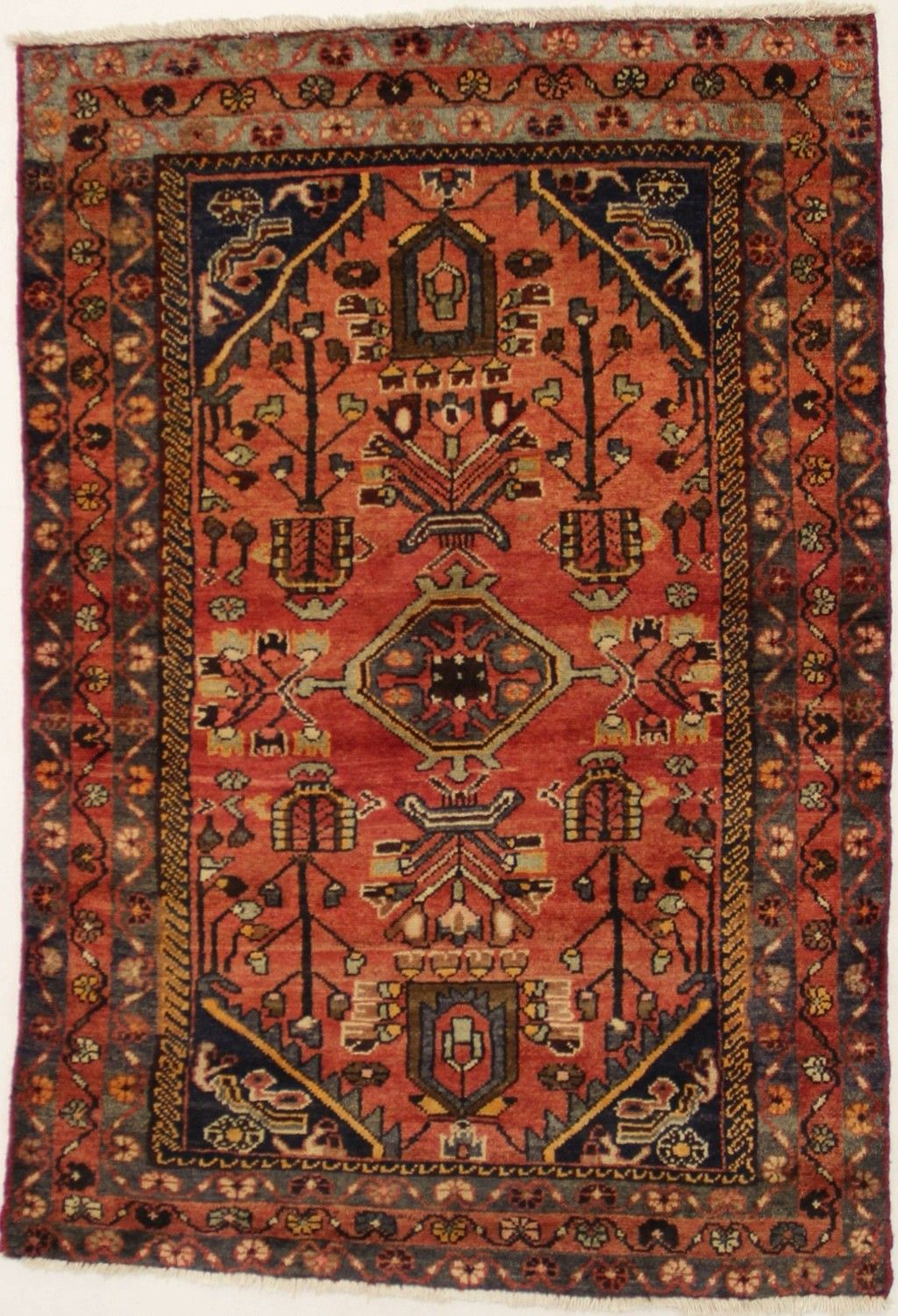 Antique Persian Rugs Lovely Tribal Handmade Vintage Lilian