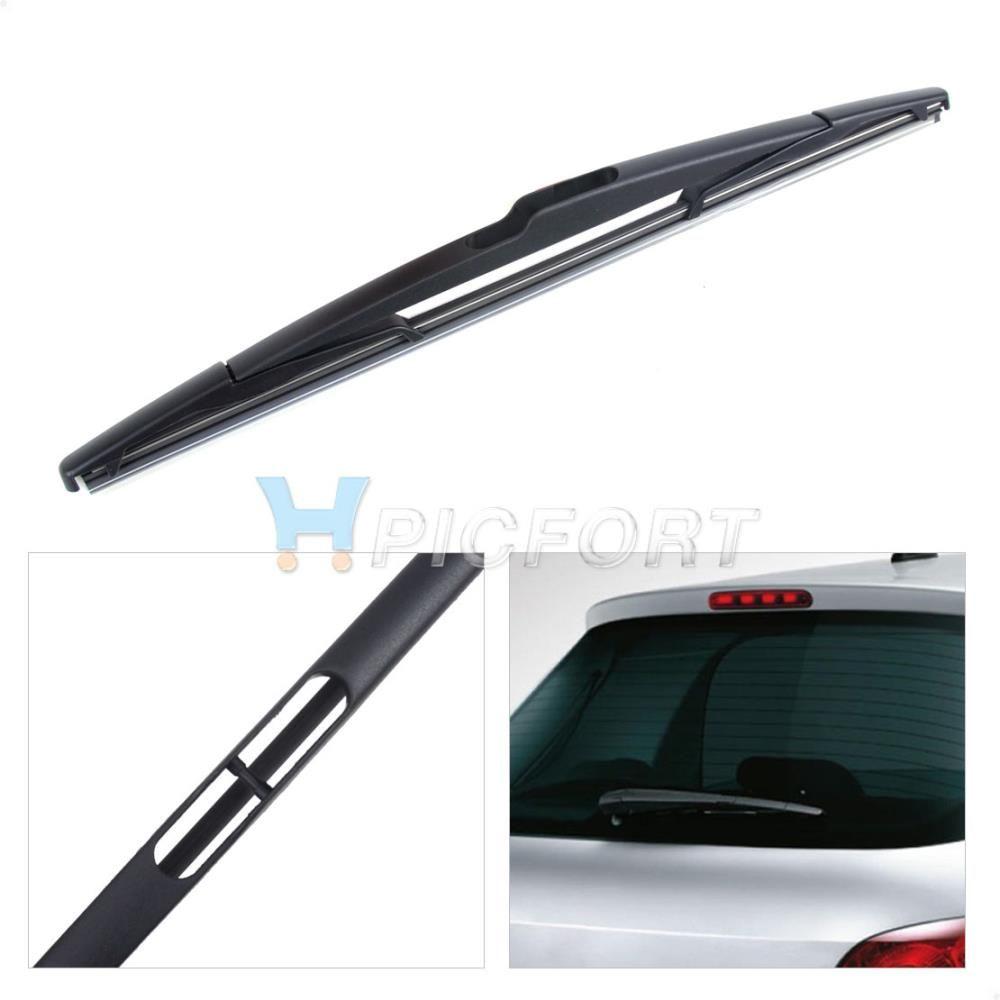 New rear window windshield wiper blade for peugeot 307 citroen c3 new rear window windshield wiper blade for peugeot 307 citroen c3 hatch ford edge versa renault fandeluxe Images