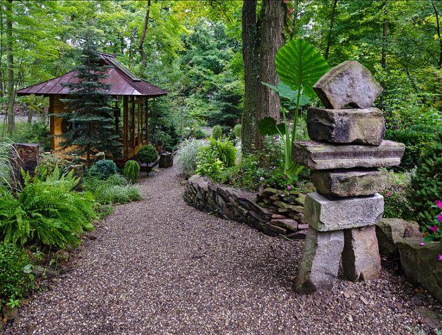 japanese garden ideas. japanese tea house. miriam's river house