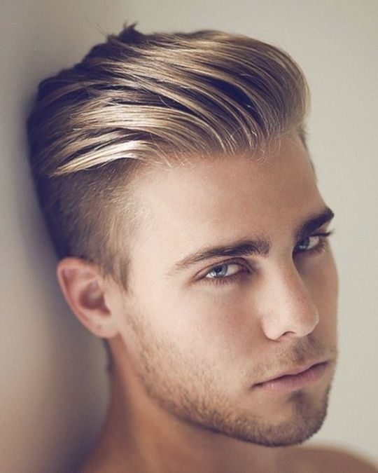 Frisuren Männer Blond Pinterest Blondes
