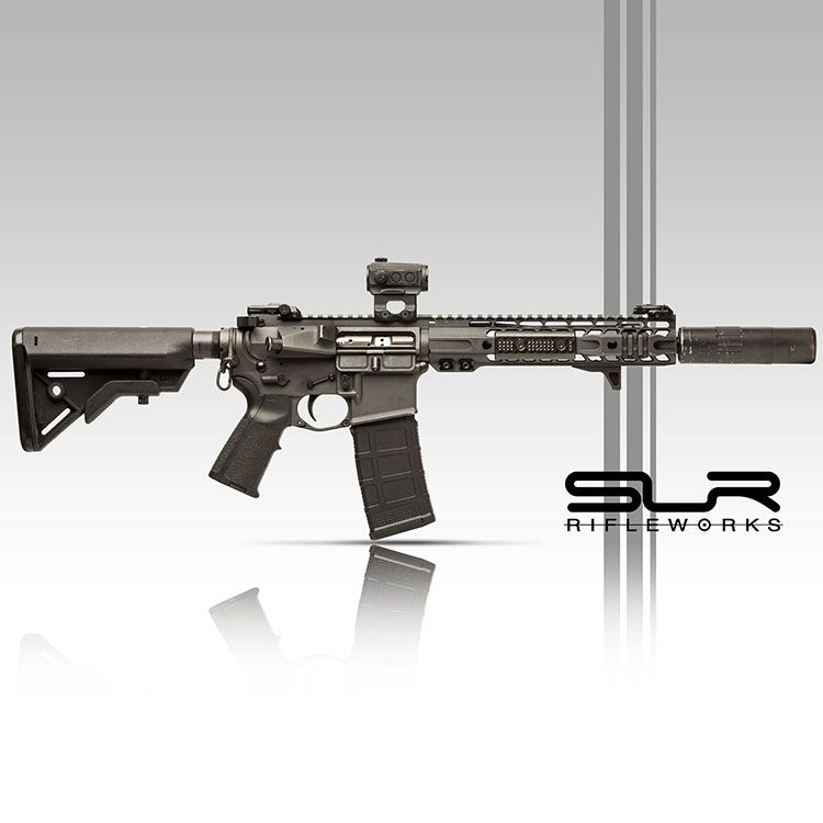 Pin On AR-15 Suppressed