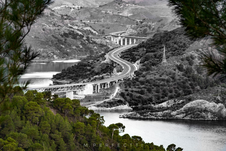 Carretera Motril Granada A44 Fotografia Carretera