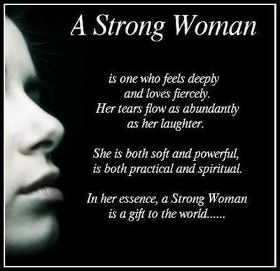 Quotes About Strong Bonds | Positive Thinkers.: A strong woman is