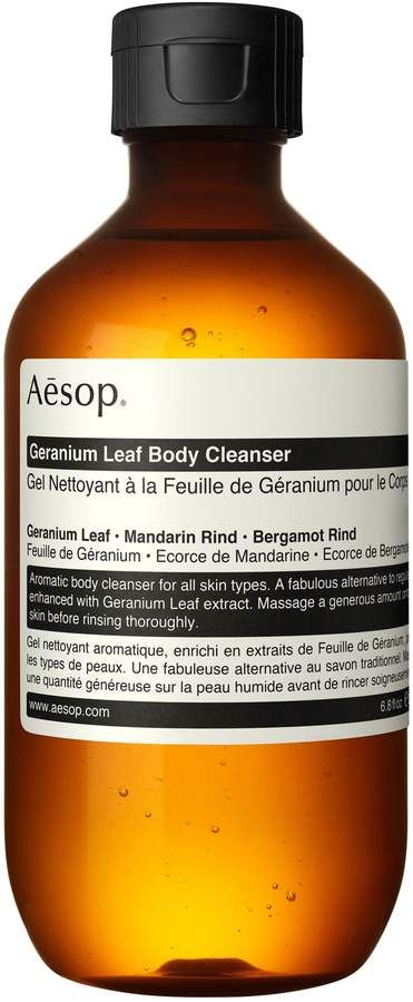 Aesop Geranium Leaf Body Cleanser Size 6 8 Oz In 2019 Products