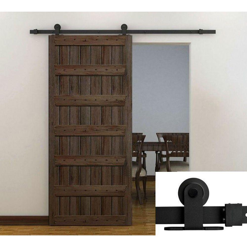 楽天市場 6 6 Ft 2 00メートル 室内ドア 金物レールドアセット片吊戸