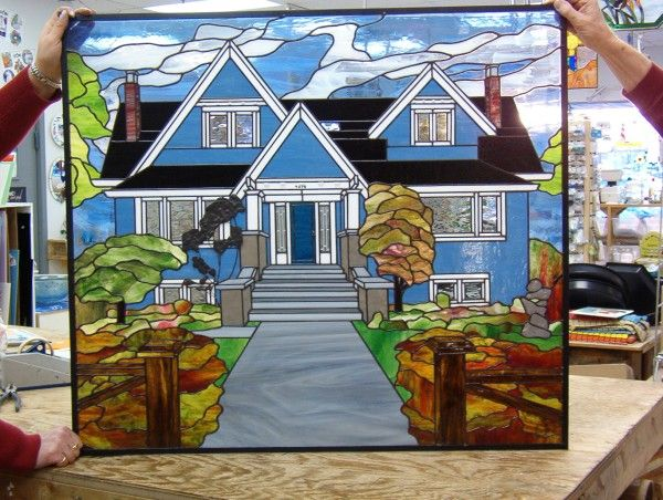 Stained Glass House | The Glass House | Kingston Ontariou0027s One Of A Kind Stained  Glass Awesome Ideas