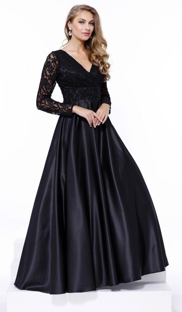 New design black evening dresses backless scoop draped long