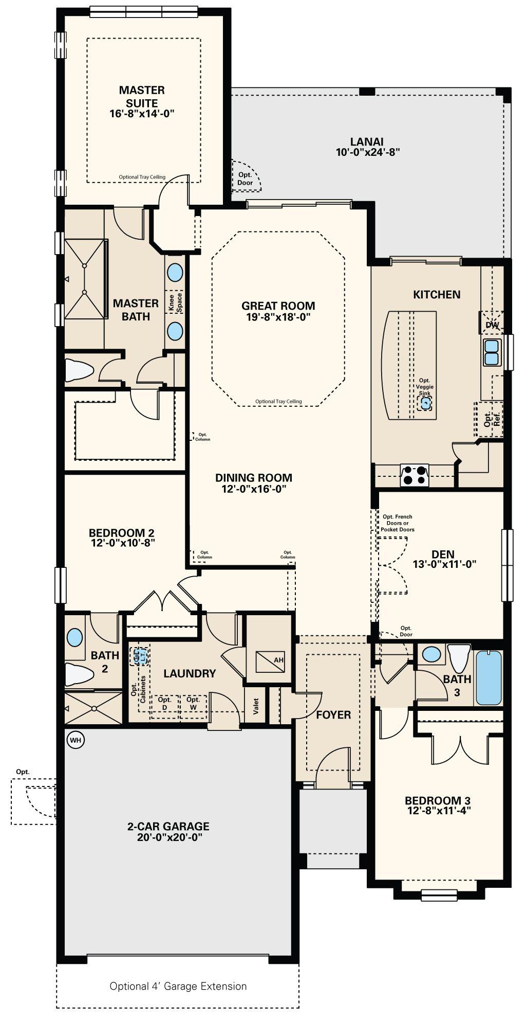 New Homes By Taylor Morrison House Floor Plans Best House Plans Apartment Floor Plans
