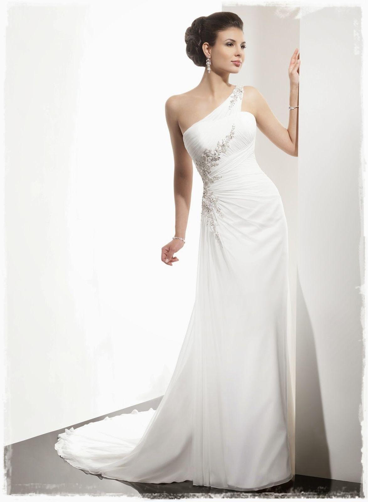 Best Wedding Dress Silhouette For Broad Shoulders | Wedding Dress ...