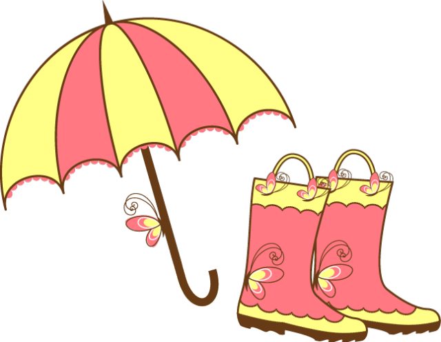 april showers clip art images april showers umbrella and rain rh pinterest com April Calendar Clip Art april images clip art free
