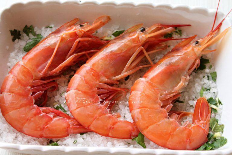 Photo of GAMBERONI WITH SALT FURBA recipe!