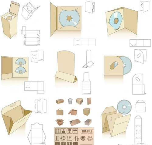 packaging design template
