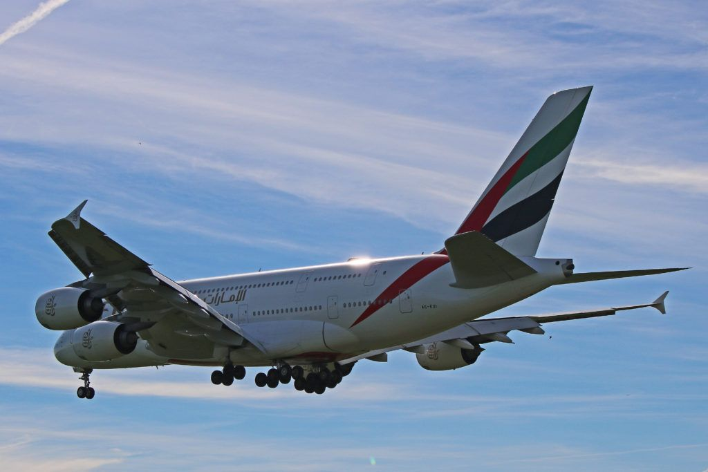 A6 Eui Emirates Airbus A380 800 Seating For 516 In This Super