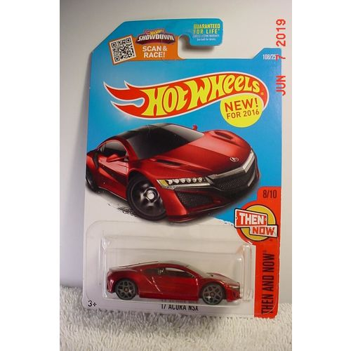 2017 Acura NSX Red Met. 1/64 #108 2016 Hot Wheels BP