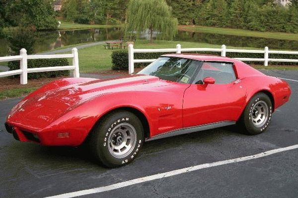 77 Red Corvette I Have Always Loved This Car And This