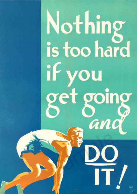 1953 Motivational Poster