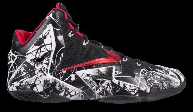NIKE LEBRON XI GRAFFITI 616175-100 SIZES 8.5 - 12  Nike  AthleticSneakers 9f62e16dd