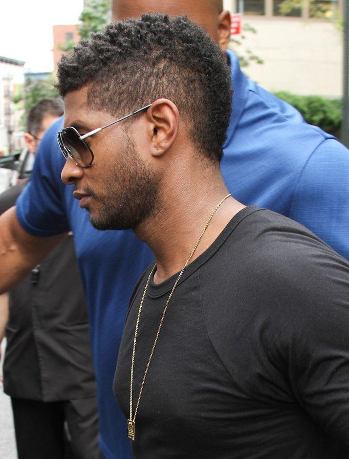 Usher Faux Hawk
