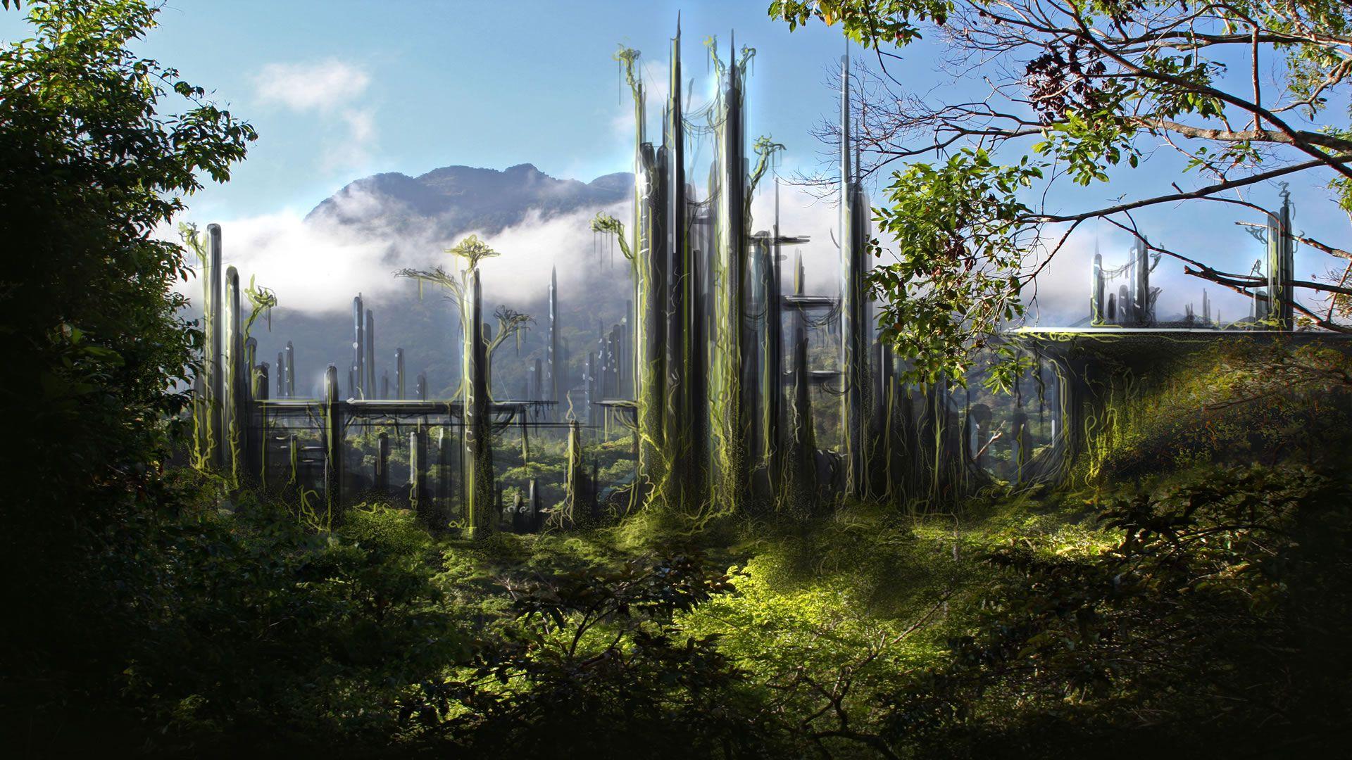 Sci Fi Landscape Wallpaper 1080p SvL