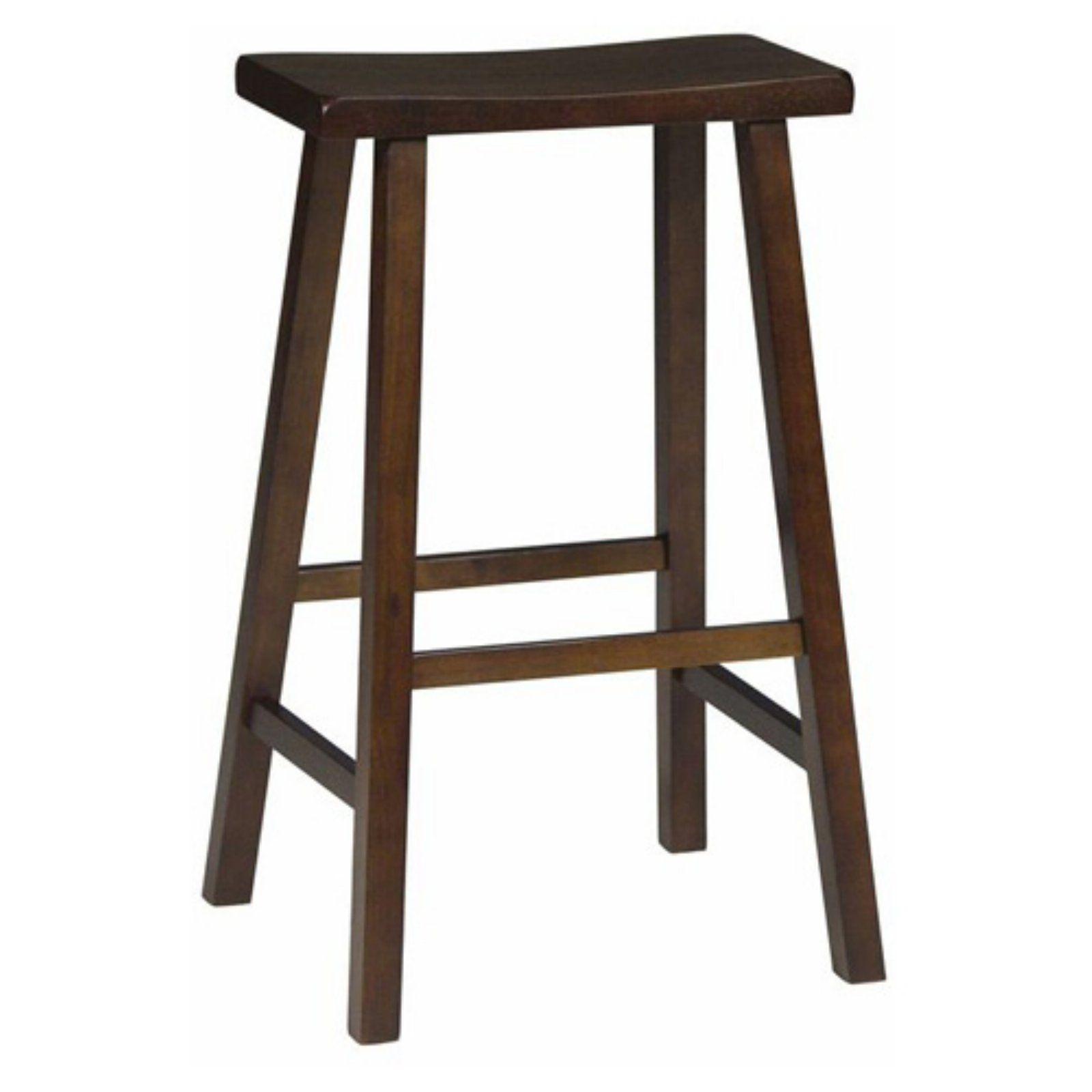 International Concepts Baileyton Backless Saddle Seat Bar Stool
