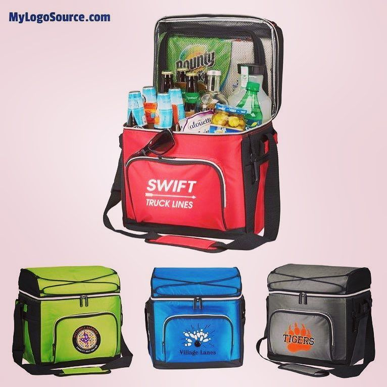 Your brand is seen and appreciated often with your logo on the 30-Can Party Cooler. Lots of pockets & storage areas! Perfect for #fall #tailgating!  For more info: http://ift.tt/2dstoem