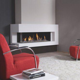 gaskaminofen spartherm dru metro 130xt 2 schwarz glatt kamineins tze eck gas kamine feuer. Black Bedroom Furniture Sets. Home Design Ideas