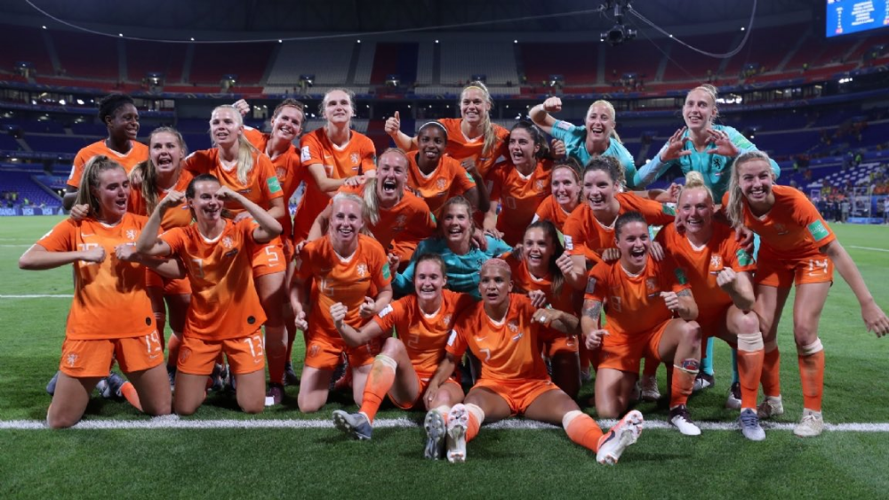 Voetbal USA NED vrouwen Fifa women's world cup, Women's