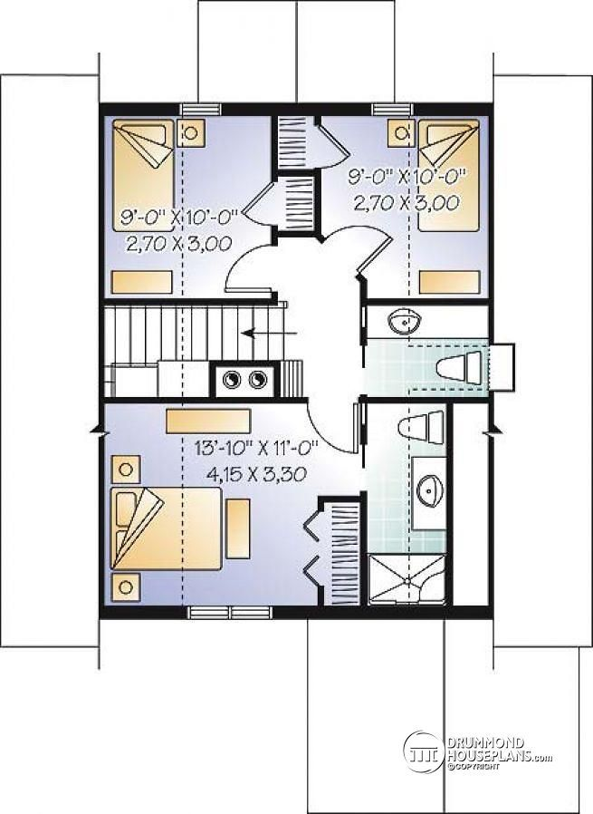 House Plans With Master Bedroom Fireplace