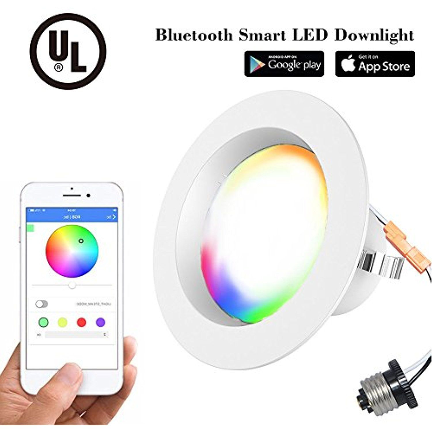 4 Inch Dimmable Led Downlight Retrofit Recessed Lighting