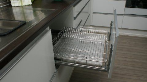 Dish Drying Drawer Instead Of Laying Dishes On Counter To Dry