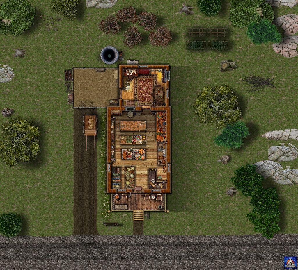 General Store Interior view by Bogie-DJ on deviantART