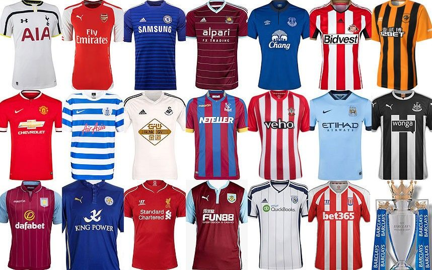 separation shoes 4bfcb b06bc Premier League kits 2014-15: in pictures | Football ...