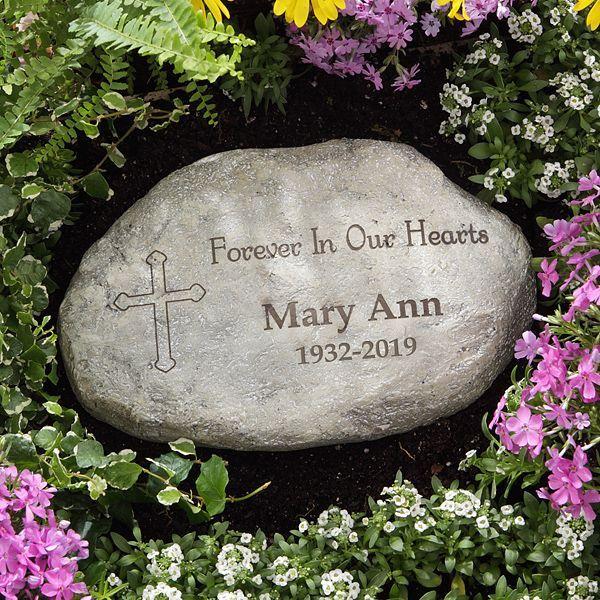 In Loving Memory Personalized Garden Stone Memorial
