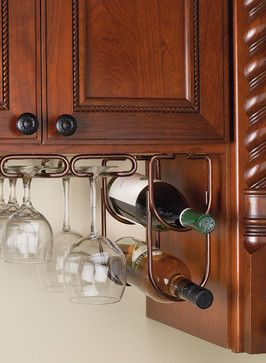 Pin On Under Cabinet Wine Rack